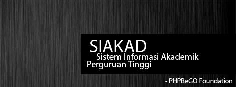 SIADU-Sistem Informasi Akademik Terpadu