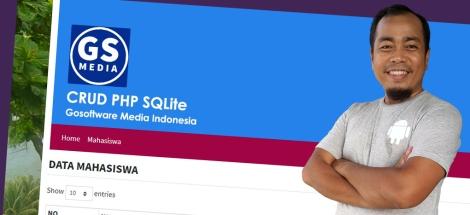 CRUD PHP Menggunakan PDO dengan DatabaseSQLite