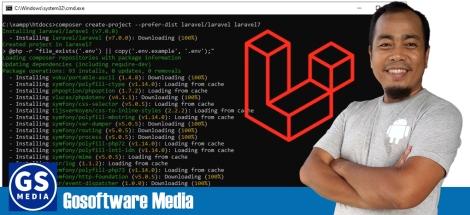 10 Langkah Instalasi dan Konfigurasi Framework Laravel7.x